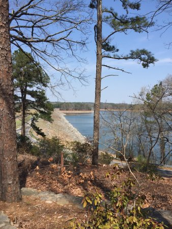 The Buford Dam on Lake Lanier