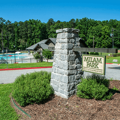 Milam Park Pool Center in Clarkston, GA