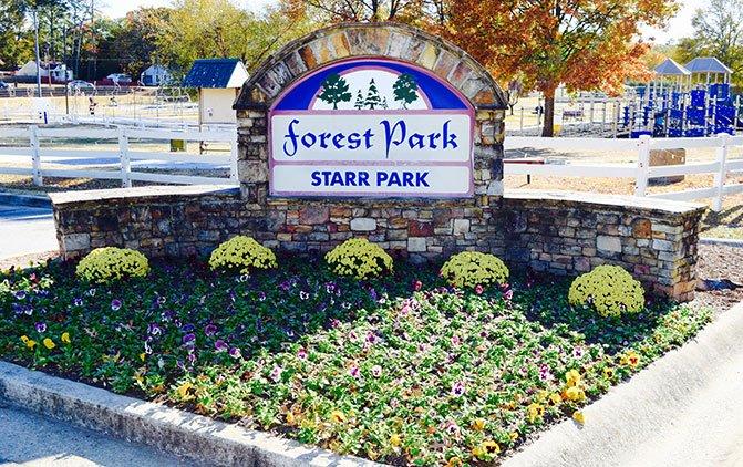 Starr Park in Forest Park, GA