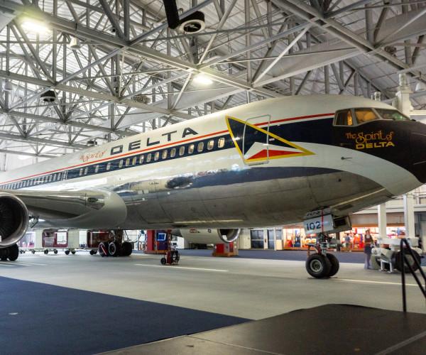 The Delta Flight Museum in Hapeville, GA