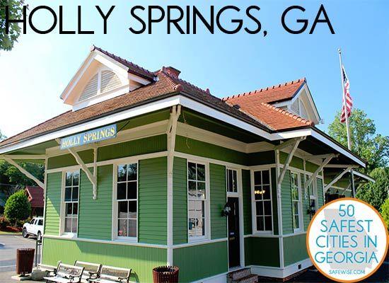 Downtown Holly Springs, GA