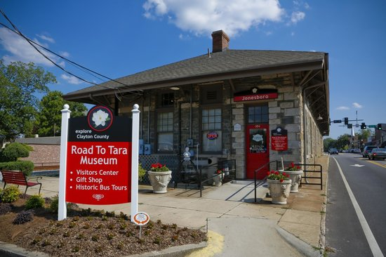 Road To Tara Museum in Jonesboro, GA
