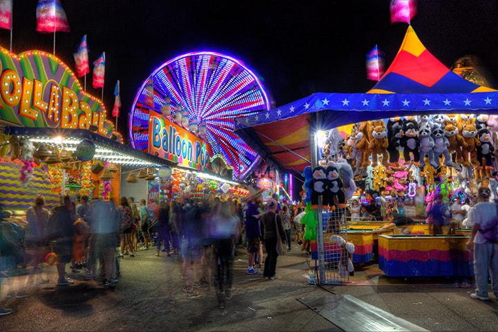 Gwinnett County Fair in Lawrenceville, GA