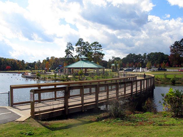 Rhodes Jordan Park in Lawrenceville, GA