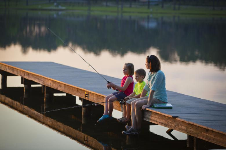 Marben Public Fishing Area in Mansfield, GA