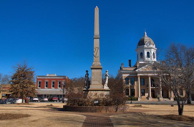 Downtown Monticello, GA