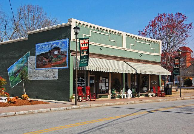 Downtown Rutledge, GA