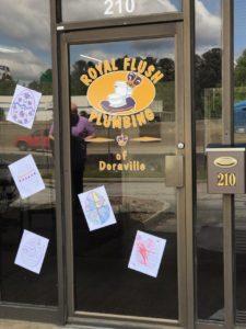 Doraville Office Door